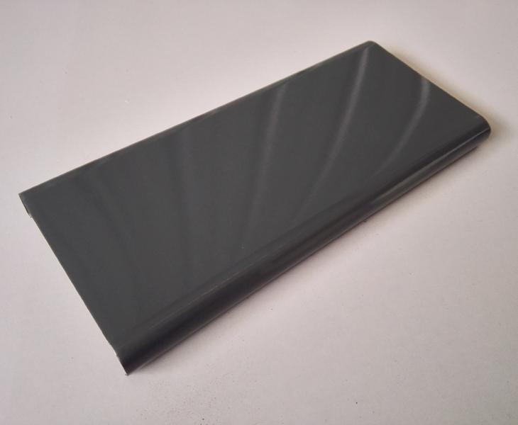 彩钢扣板效果图_深灰色 广告牌扣条 鼠灰 彩扣板